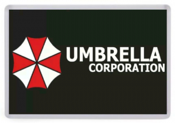 Umbrella Corporation Fridge Magnet. Inspired by Resident Evil